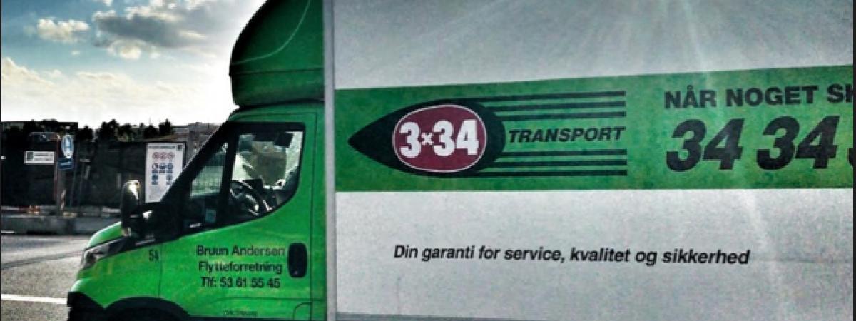 Vi er en del af 3x34 Transport